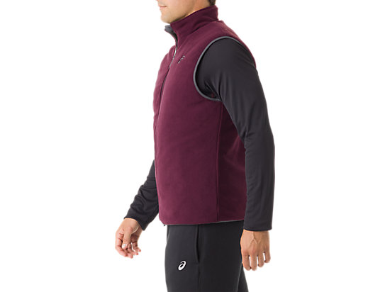 Mens Reversible Vest Indigo/Rioja Red 19