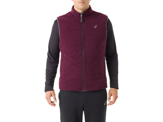 Mens Reversible Vest Indigo/Rioja Red 23