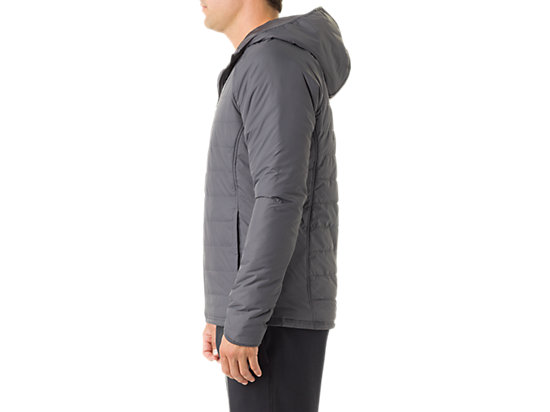 Men's Puffer Jacket Dark Grey 11