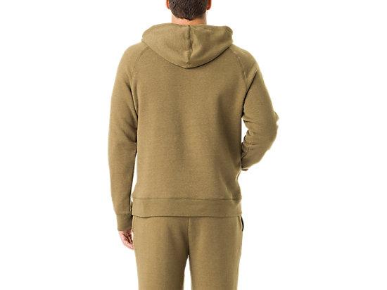 Men's Fleece Hoody Military Olive Heather 7