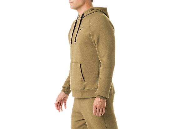 Men's Fleece Hoody Military Olive Heather 11