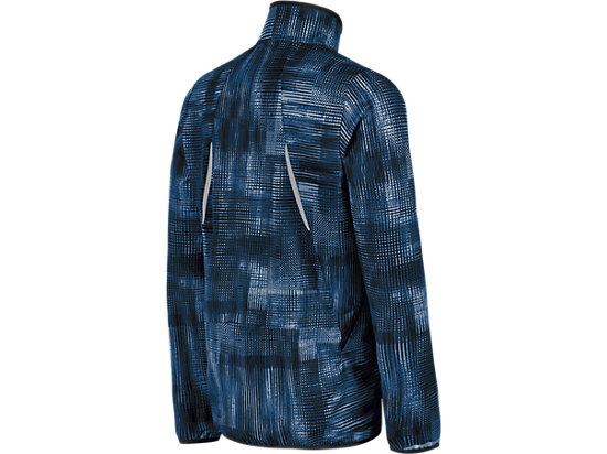 Lightweight Woven Jacket Poseidon Linear Blur 7