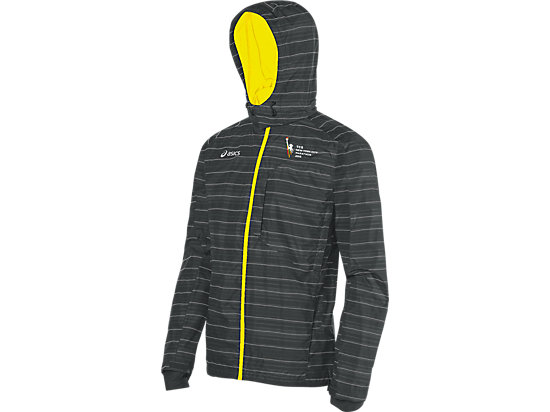 Marathon Storm Shelter Jacket Iron Gate/Neon 3