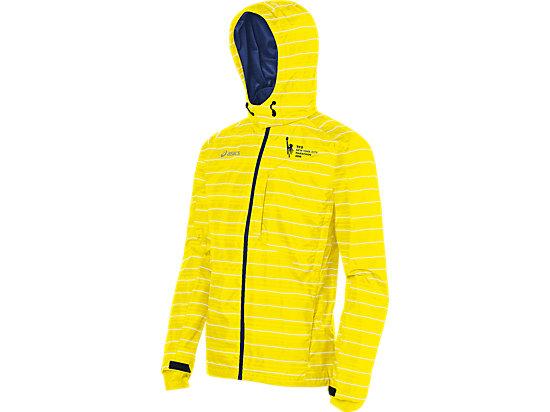 Marathon Storm Shelter Jacket Neon/Medieval Blue 3