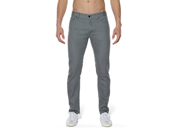 DENIM PANT, LIGHT GRAY