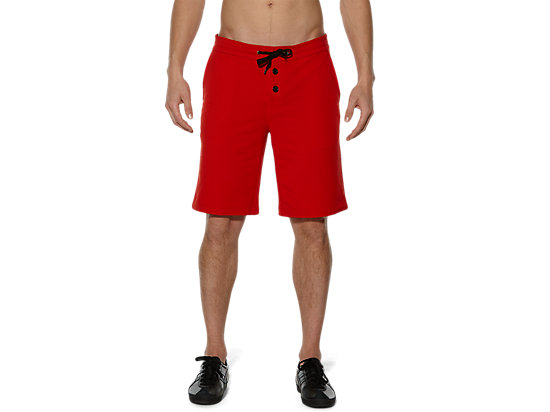 SWEAT SHORT PANT, Red
