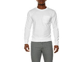 SWEAT SHIRT, White