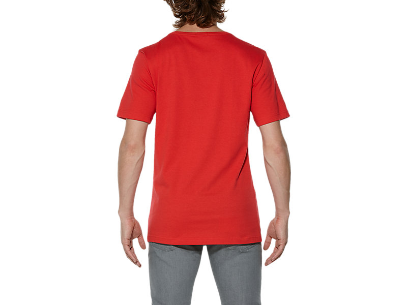 T-SHIRT CON LOGO RED 5 BK