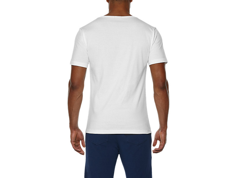 LOGO T-SHIRT WHITE/S 5 BK