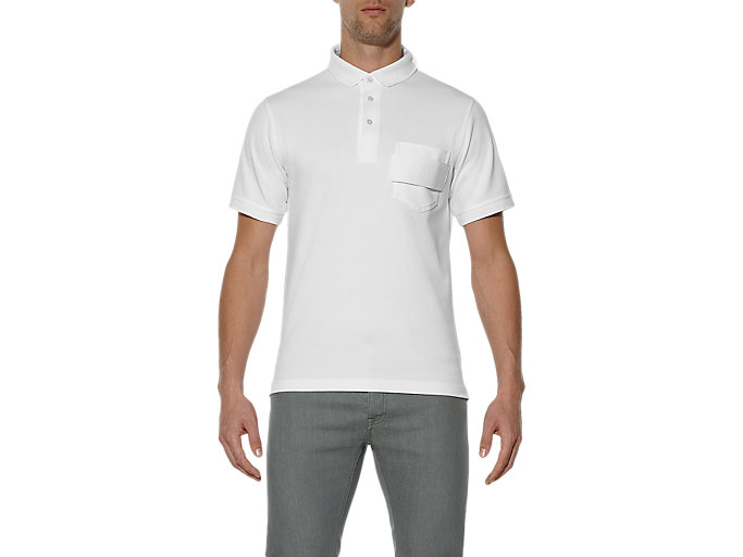 Front Top view of POLO, White