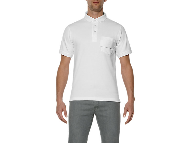 POLO SHIRT WHITE 1