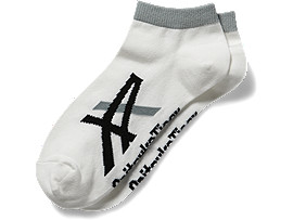 ANKLE SOCKS, White/Black