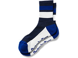 SHORT SOCKS, NAVY/WHITE