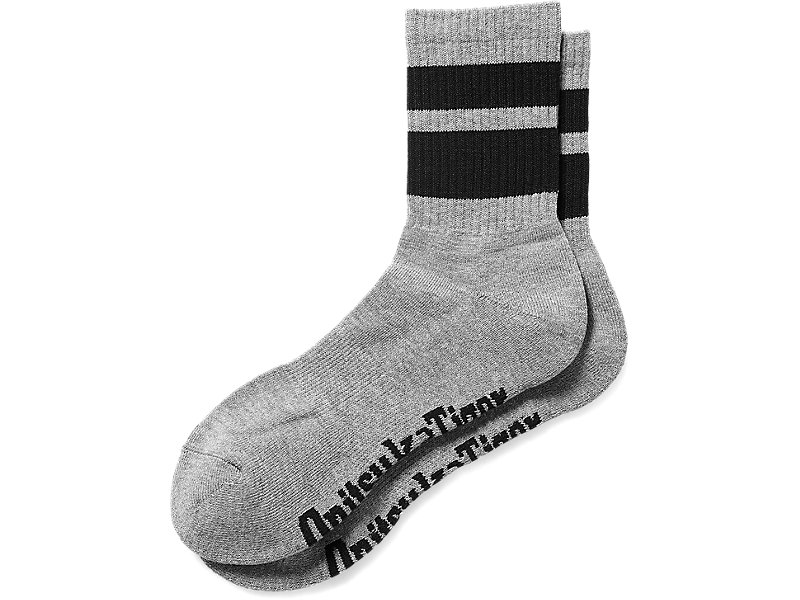 CHAUSSETTES BASSES HEATHER GRAY/BLACK 1 FT