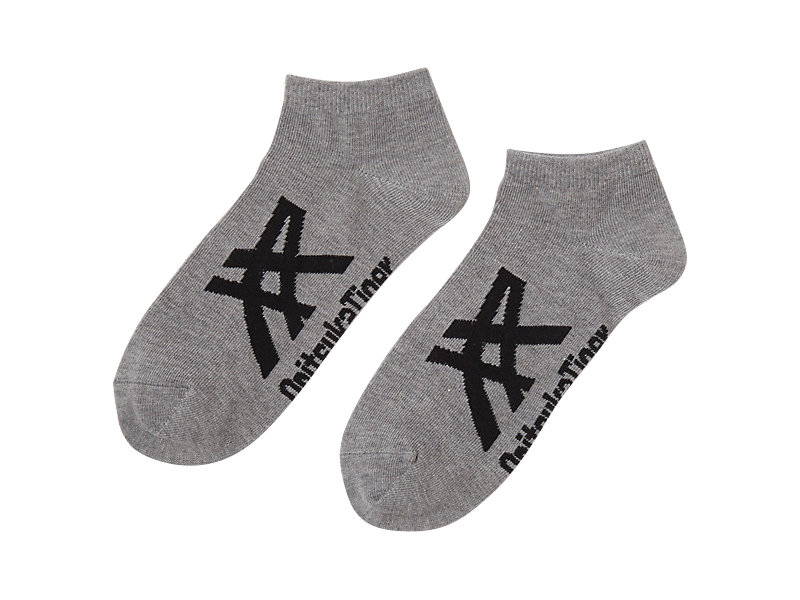 KNÖCHELSOCKEN HEATHER GRAY/BLACK 1