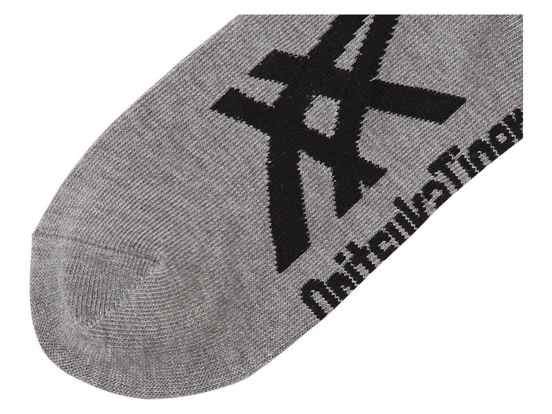 KNÖCHELSOCKEN HEATHER GRAY/BLACK 5