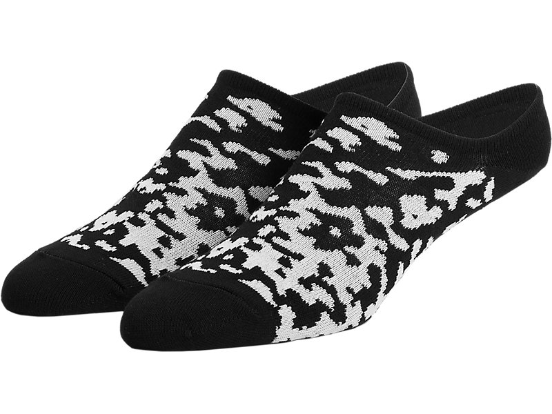 Invisible Socks White/Black 1 FT