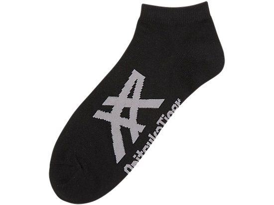 SOCQUETTES, BLACK/HEATHER GREY
