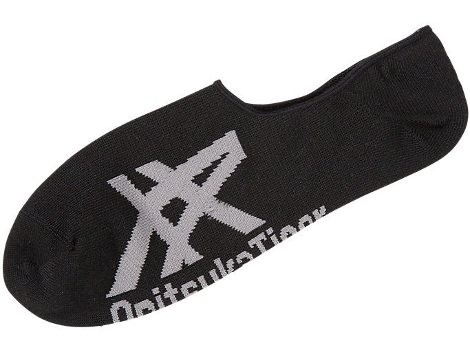INVISIBLE SOCKS, BLACK/HEATHER GREY