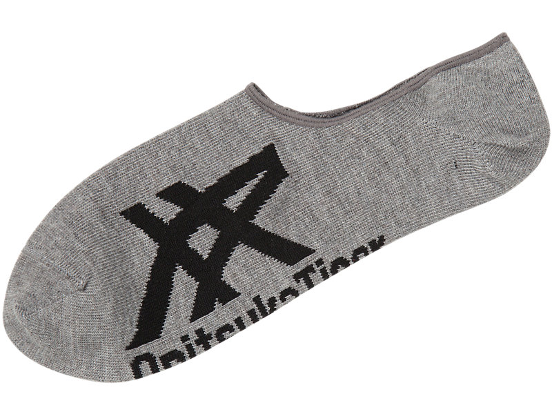 Invisible Socks Heather Gray/Black 1 FT