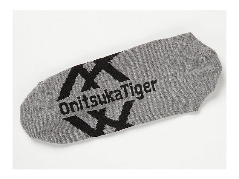 Invisible Socks Heather Gray/Black 13 Z