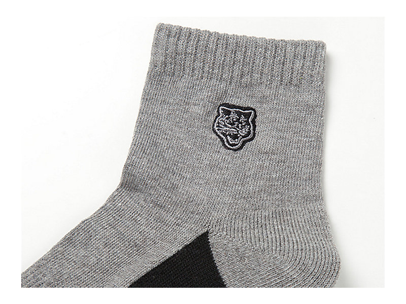 Short Socks Heather Gray 9 Z