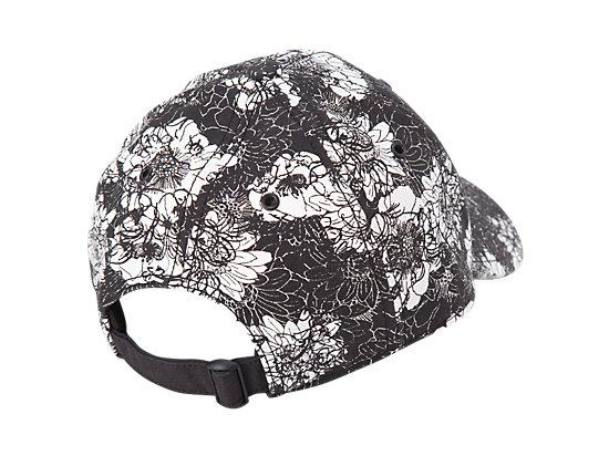 帽子 黑色/白色