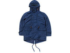 Front Top view of SHORT MODS COAT, Navy