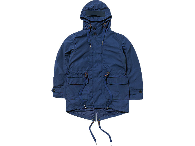 top-rated real complete range of articles how to choose SHORT MODS COAT | Men | Navy | Clothing | Onitsuka Tiger Spain