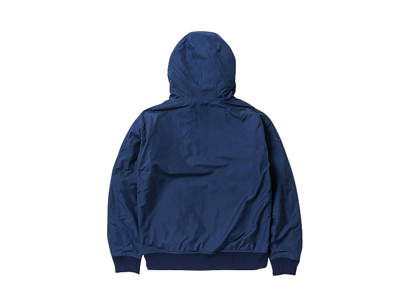 WOVEN HOODED JACKET NAVY 5