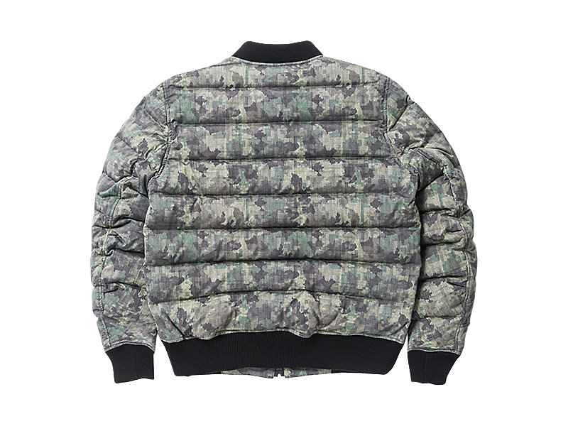 DOWN JACKET (GRAPHIC) KHAKI CAMO 5