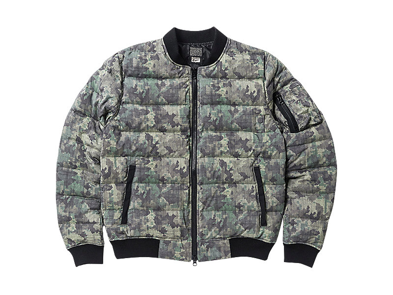 DOWN JACKET (GRAPHIC) KHAKI CAMO 1