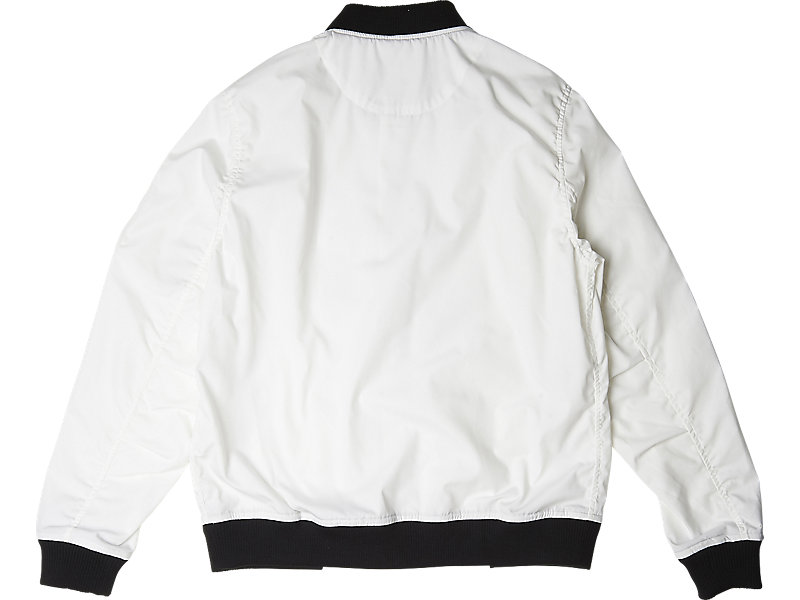 Bomber Jacket White 5 BK