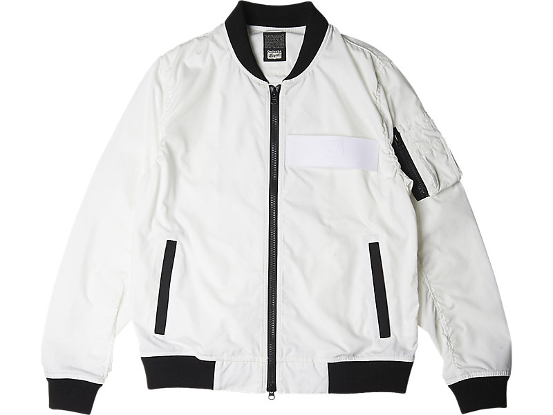 Bomber Jacket White 1 FT