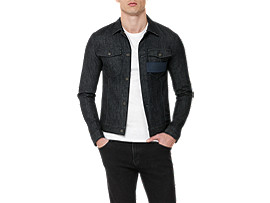 DENIM JACKET, INDIGO