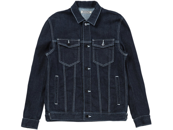 DENIM JACKET, NAVY BLUE