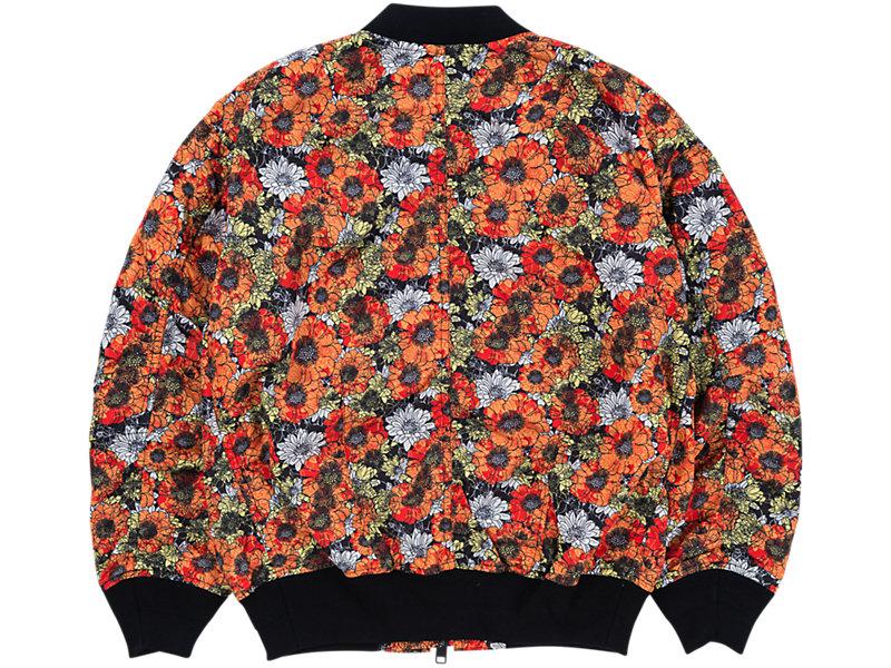 Flower Bomber Jacket ORANGE/ WHITE 5 BK