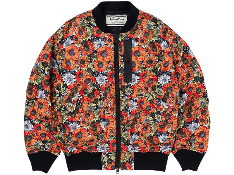 Flower Bomber Jacket ORANGE/ WHITE 1 FT