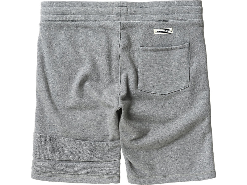 SWEAT SHORT PANT HEATHER GRAY 5 BK