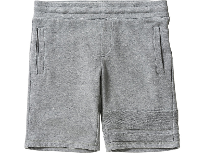 SWEAT SHORT PANT HEATHER GRAY 1 FT