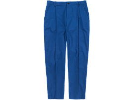 Front Top view of PANT, Blue