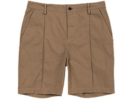 Front Top view of SHORT PANT, Sand Beige
