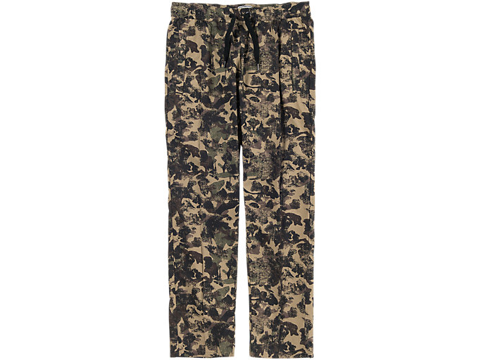 Front Top view of CAMO PANT, Sand Beige/Khaki