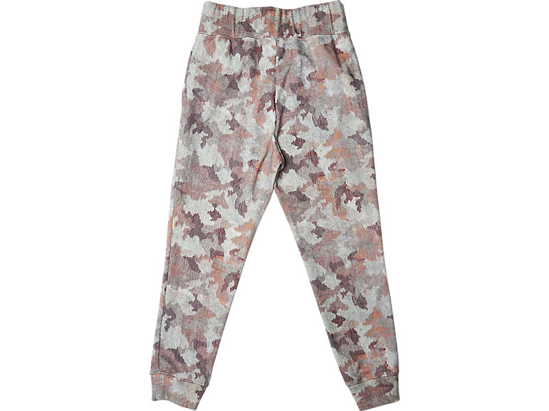 Womens Graphic Sweat Pant Pink Camo 5 BK