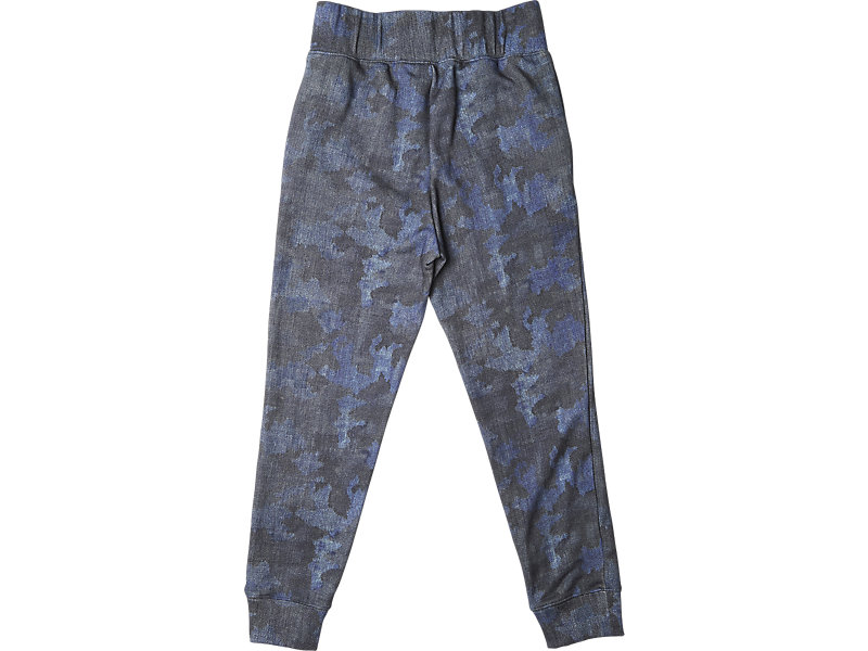 Womens Graphic Sweat Pant Navy Camo 5 BK
