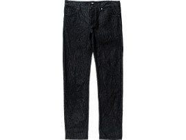 Front Top view of WS DENIM PANT, INDIGO