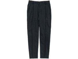 Front Top view of WS PANT, BLACK