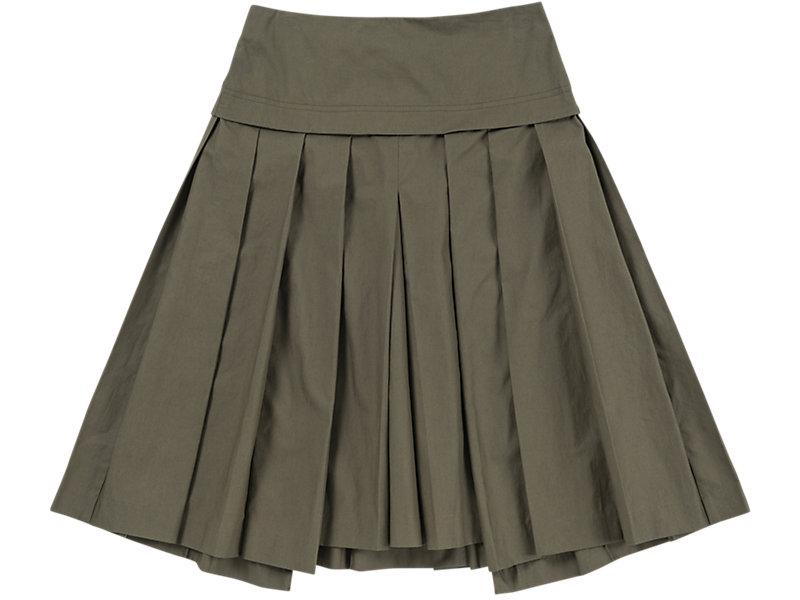 Pleated Skirt Khaki 1 FT