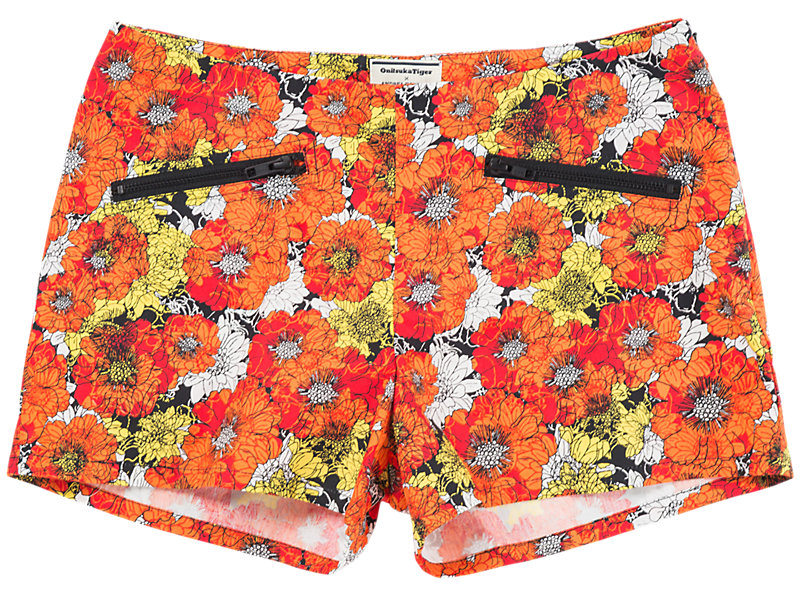 Flower Hot Pant Orange/White 1 FT