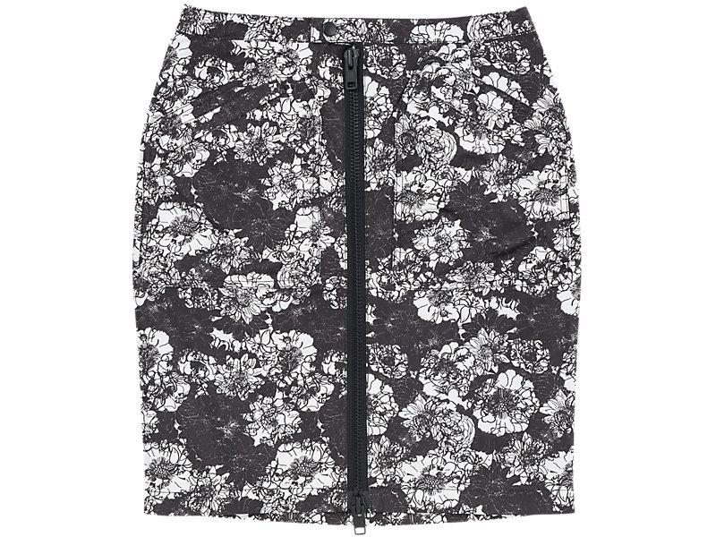 Flower Pencil Skirt BLACK/WHITE 1 FT